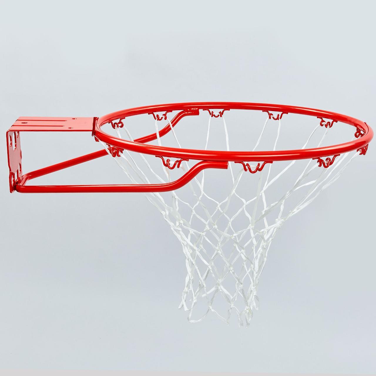 Кольцо баскетбольное Spalding PRO SLAM RIM (d кольца-46см, d трубы-16мм, в ком.кольцо-сталь, сетка-нейлон) PZ-7888SCNR