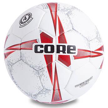 Мяч для футзала №4 PU CORE PREMIUM QUALITY (5 сл., сшит вручную)
