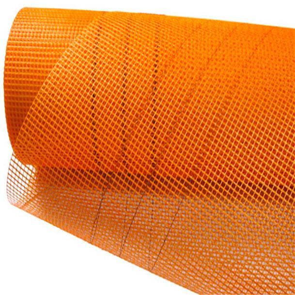 Сітка склотканева 45м, 125 г/м2, фасадна, помаранчева КЛАСІК (68808)