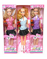 "Кукла типа ""Барби""бол. 8596 (853766) 2вида,в кор. 12*5,5*45см"