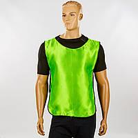 Манишка для футбола мужская с резинкой (PL, XL-65x45+14см) PZ-CO-3901