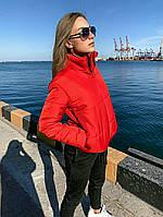 Куртка с врезными карманами, низ и рукав на резинке, фото 1