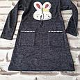 Туника платье с нашивкой единорог и кукла лол (LOL), фото 2