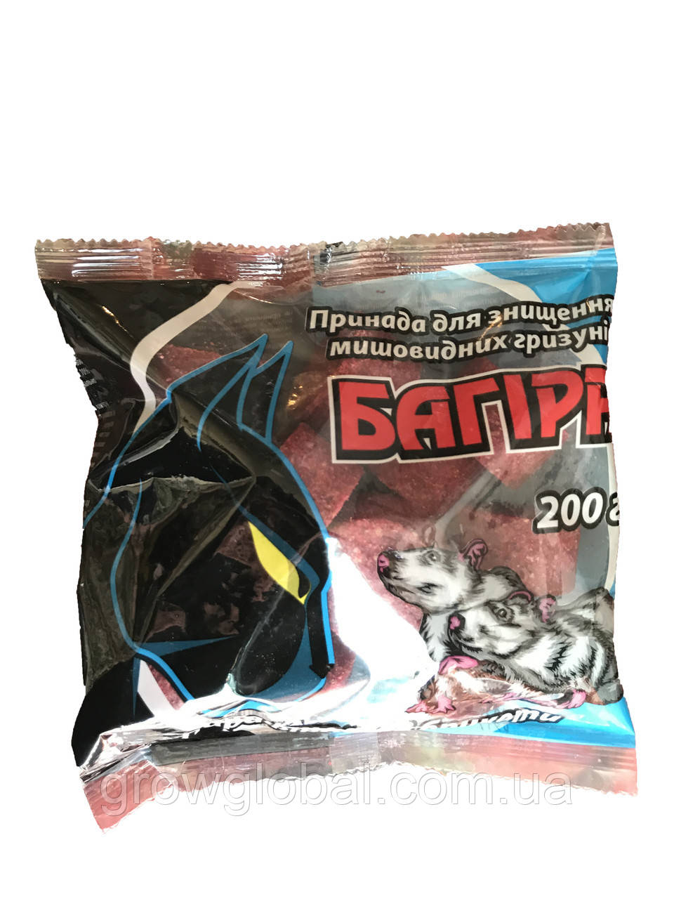 Багира брикеты от крыс и мышей 200 г оригинал