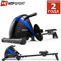 Гребной тренажер HS-030R Boost. Маховик 9,5 кг. До: 120кг. 10 регулировок нагрузки