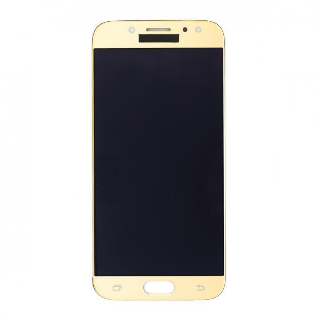 Дисплей (LCD) Samsung J500H Galaxy J5/  J500F/  J500M TFT (подсветка оригинал) с сенсором золотой