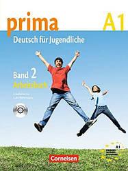 Prima Deutsch fur Jugendliche 2 Arbeitsbuch mit Audio-CD