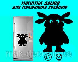 """Магнітна дошка на холодильник """"Лунтік"""" XL (30х40см)"""