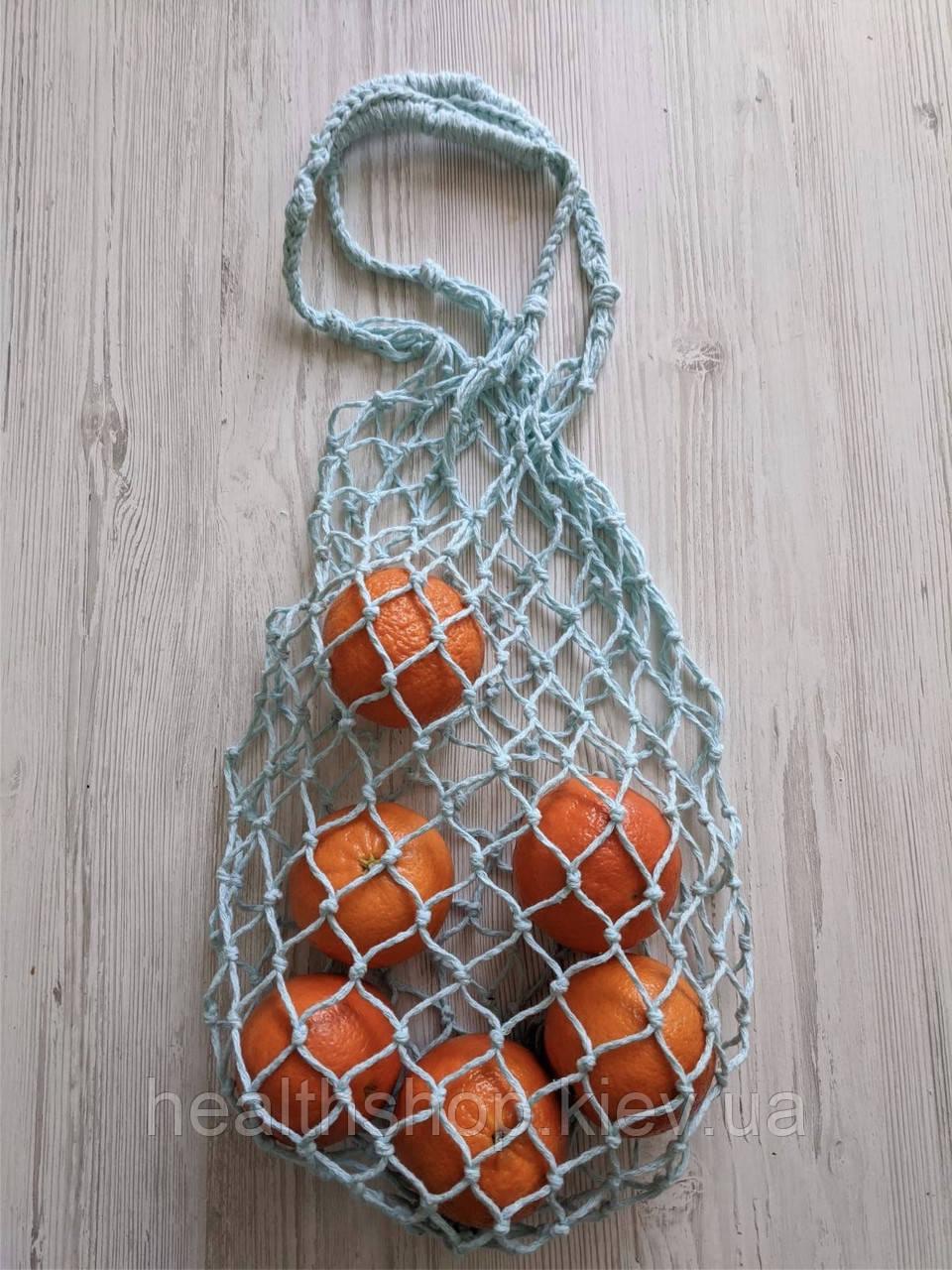 Класична Авоська, сумка-сіточка (м'ята)