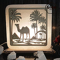 """Соляна лампа """"Верблюд"""""""