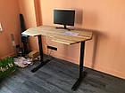 Стол с регулировкой высоты TehnoTable  wood, фото 7
