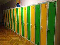 Шкаф для раздевалки в спортзал, Шафа для одягу. .ШОМ 300 2-2, Шкафчики для бассейнов.