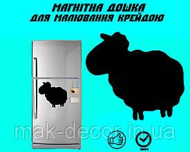 Магнитная доска на холодильник  Овечка Долли маленькая L (20х25см)