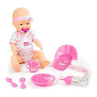 Набор кукла пупс Уход за малышом 43 см Оригинал Simba New Born Baby 5039005