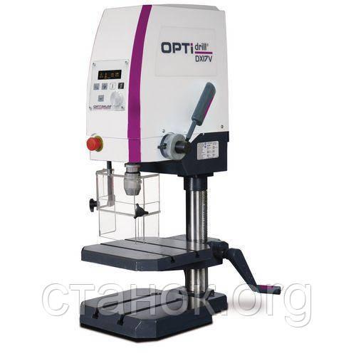 Optimum Drill DX 17 V cверлильный станок по металлу резьбонарезной с вердлильний верстат оптимум дрил дикс 17в