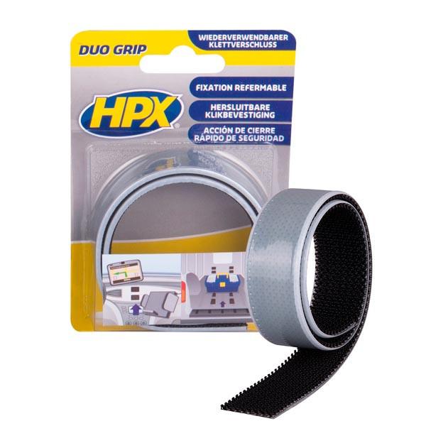 DUO GRIP - 25мм x 0,5м - самоклеющаяся лента-застежка HPX