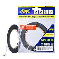 AUTOFIX - автомобильная двусторонняя клейкая лента (скотч) - эконом - 6мм x 5м