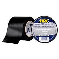 Широкая изоляционная лента HPX 52400 - 50мм x 10м - толщина 0,19мм - черная