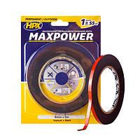 MAXPOWER OUTDOOR - 6мм х 5м - черная двусторонняя лента HPX (скотч) для экстремальных нагрузок