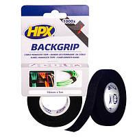 HPX BACKGRIP - Стяжка-липучка для бандажа кабелей 16мм x 5м x 1.25мм, чёрная, фото 1
