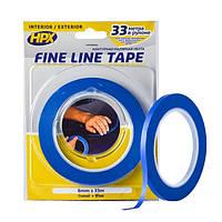 HPX FINE LINE - 6мм x 33м - маскирующая лента (скотч) для криволинейных форм