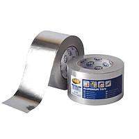 HPX AL 120°С 40мкм - 75мм x 50м - высокотемпературная алюминиевая клейкая лента (алюминиевый скотч)
