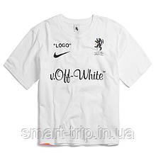 Мужская футболка Off White M топ-реплика OW003