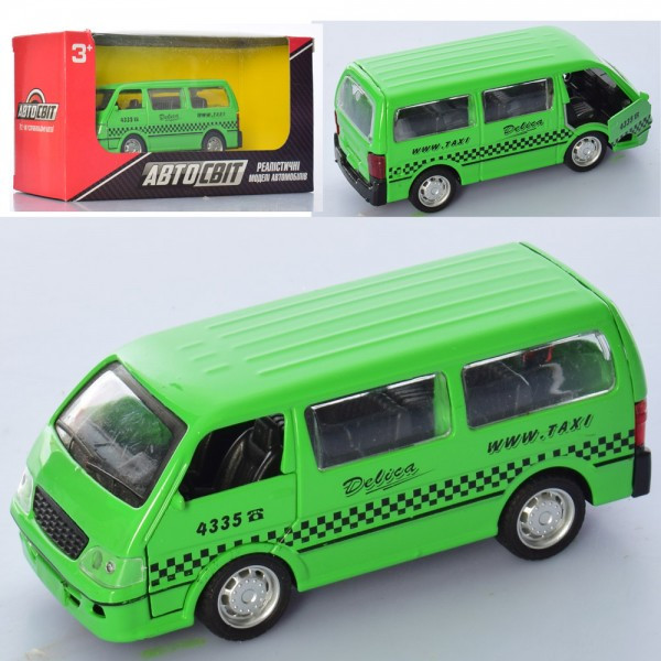 Автобус, метал,інер-й,11см АвтоСвіт