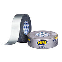 HPX 6200 - армированная ремонтная лента (скотч), серебристая - 48мм x 50м