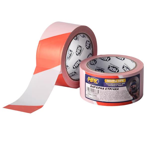 HPX Barrier Tape - высококачественная сигнальная лента для ограждения территорий - 50мм x 100м