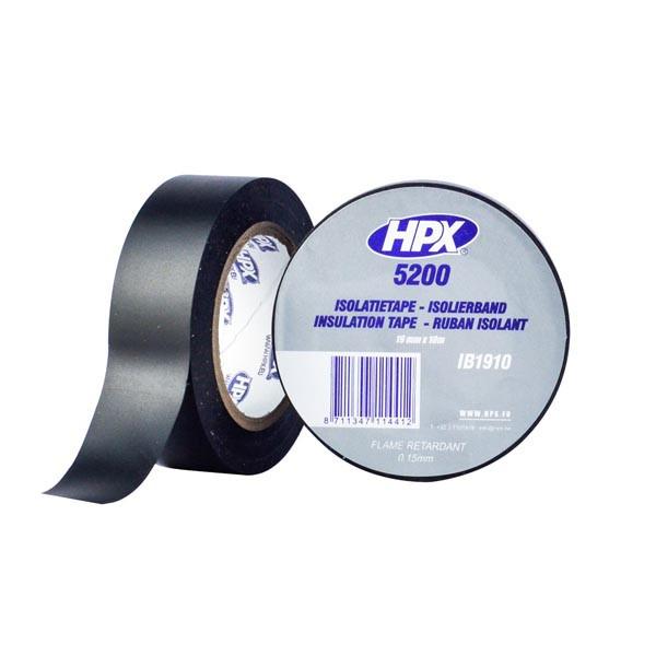 Профессиональная изоляционная лента HPX 5200 - 19мм  x 10м  - черная