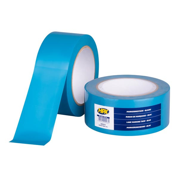 Lane Marking Tape HPX - самоклеющаяся лента (скотч) для маркировки пола - синяя