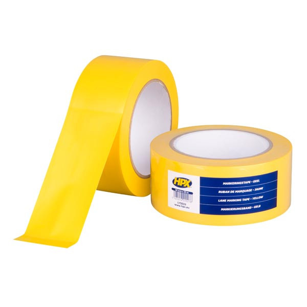 Lane Marking Tape HPX - самоклеющаяся лента (скотч) для маркировки пола - желтая