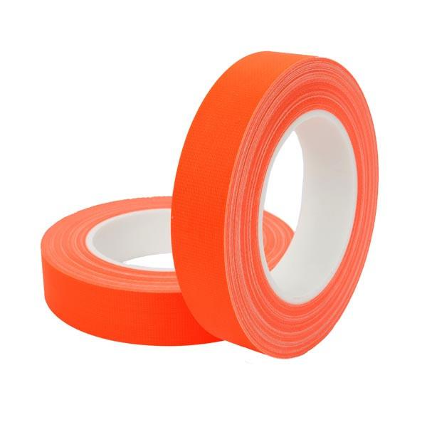 HPX FLUO TAPE - армированная флюорисцентная лента для маркировки - оранжевая - 12мм