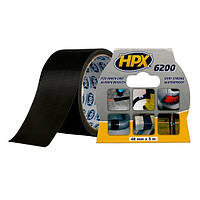 HPX 6200 - армированная ремонтная лента (скотч), черная - 5м, фото 1
