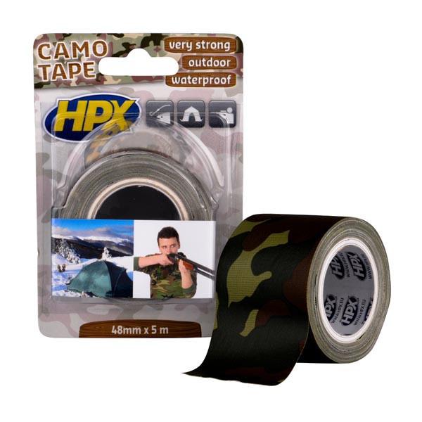 HPX CAMO - 48мм х 5м - камуфляжная армированная ремонтная лента