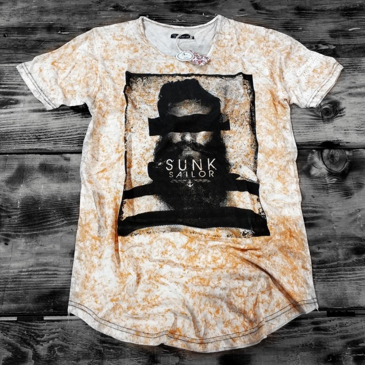 Мужская футболка SUNK SAILOR {S}