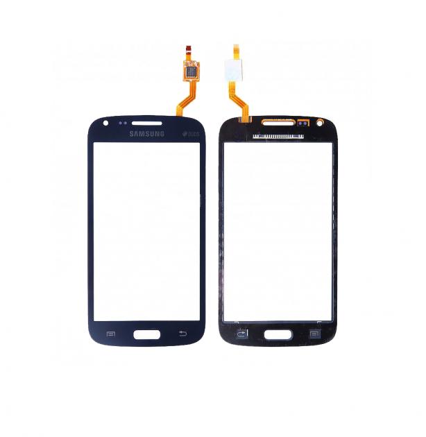Сенсор (Touch screen) Samsung i8262/  i8260 синий оригинал