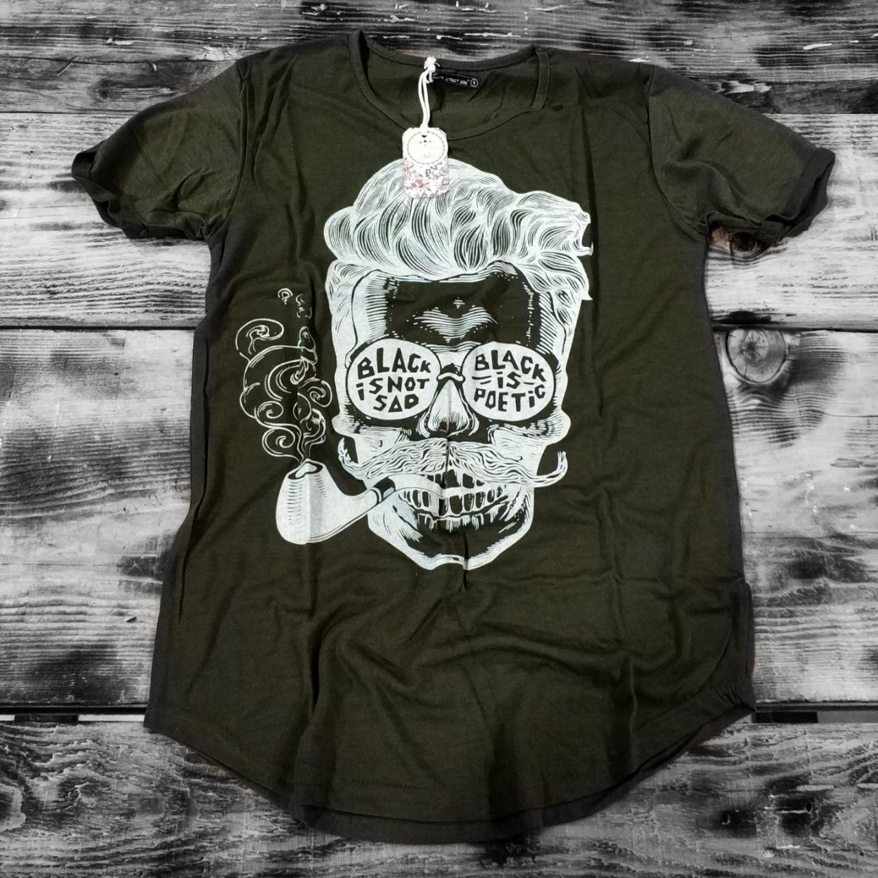 Мужская футболка OTANIK Black shot {S}