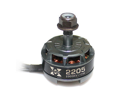 Двигатель HOBBYWING XRotor 2205 TITANIUM 2300KV CW 1.25kg+ для мультикоптеров