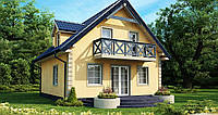 Проект дома uskd-105, фото 1