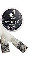 Гель-паутинка TK spider gel, черный 5 мл