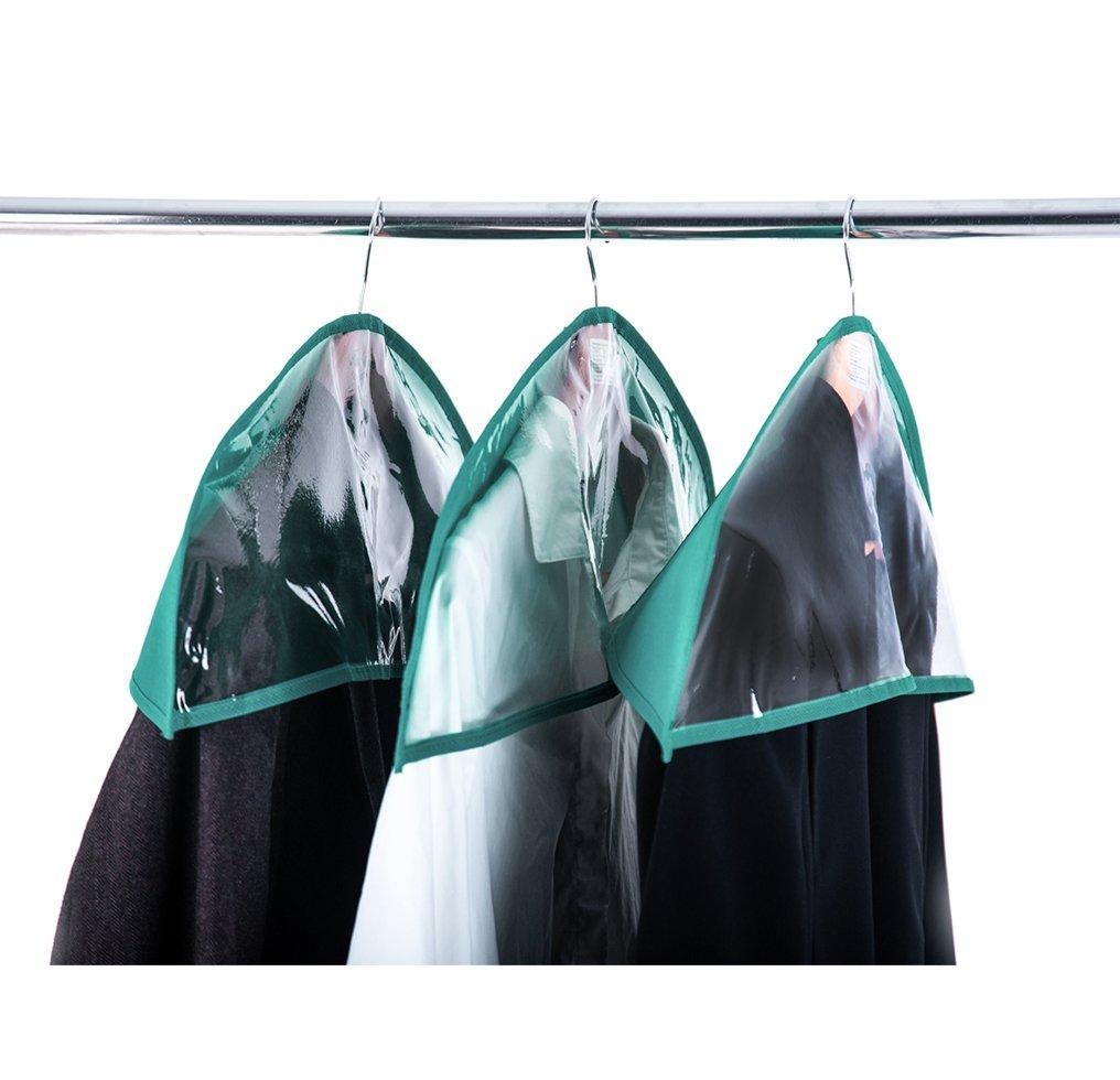 Комплект накидок-чехлов для одежды 3 шт ORGANIZE HN3-3  лазурь