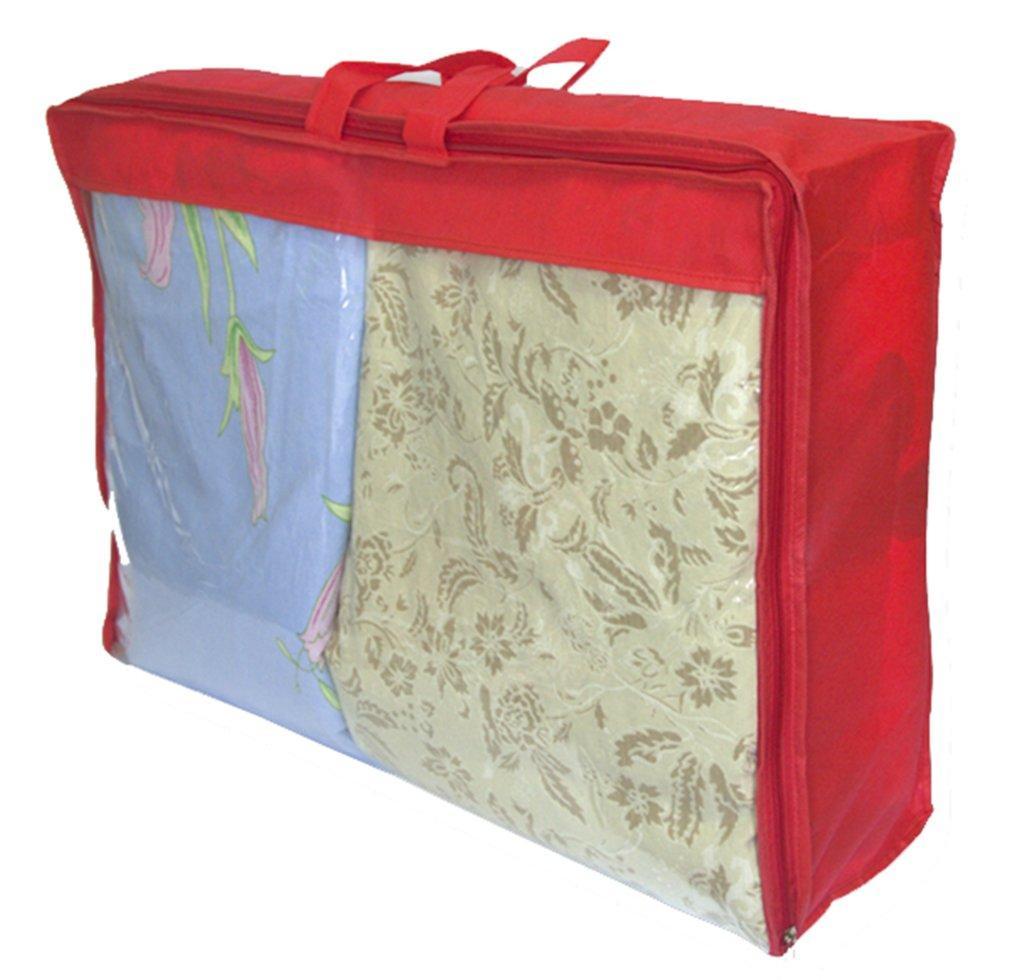 Сумка для одеяла L ORGANIZE HS-L-red красный