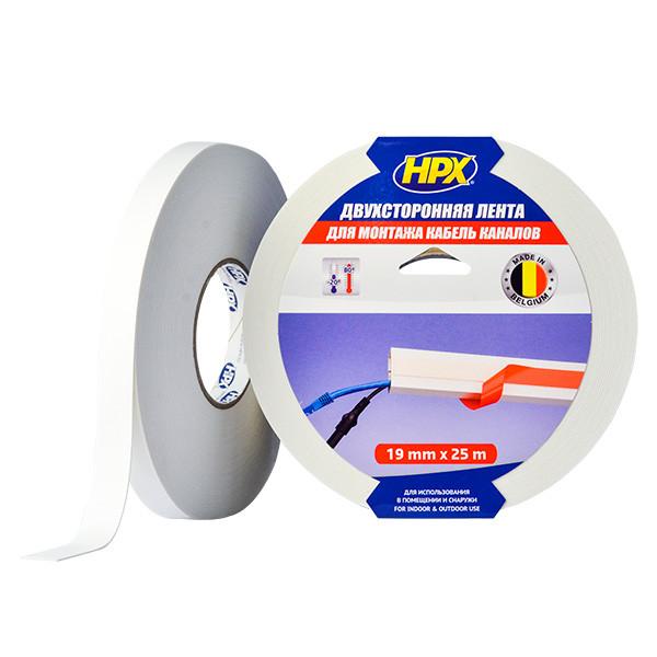Двухсторонняя клейкая лента (скотч) HPX для кабель каналов