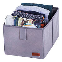 Ящик-органайзер для хранения вещей M ORGANIZE HY-M-grey серый, фото 1
