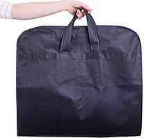 Чехол для верхней одежды с ручками 60*150*15 см  ORGANIZE HCh-150-15-blue синий