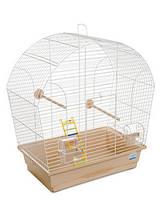 Клетка «Лина» для мелких декоративных птиц (белый/бежевый), Природа™
