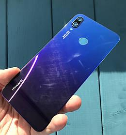 Задняя крышка для Huawei P Smart Plus синяя