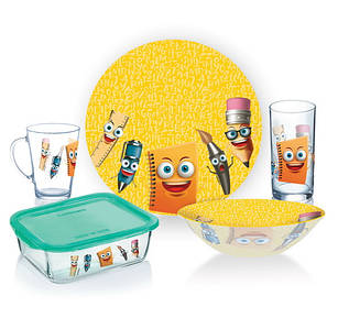 Набор посуды детский LUMINARC STATIONERY 5 предметов